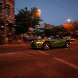 Green Dodge Viper