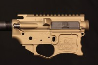 Bronze AR-15 Assembly