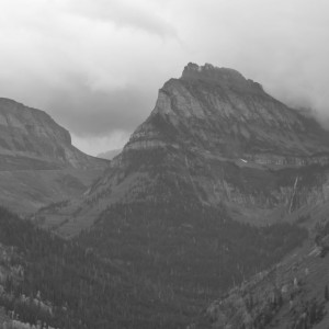 Glacier National Park Mountain Range