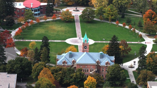 University of Montana Courtyard