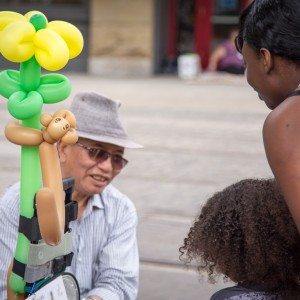 Portland Downtown Balloon Guy