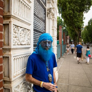 Portland Downtown Blue Hippie