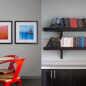 Interior Design Side by Side Diptych