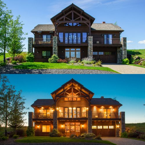daylight vs twilight photography for architecture and real estate