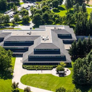 Spokane Commercial Real Estate Photographer, Guardian Life Aerial Photo