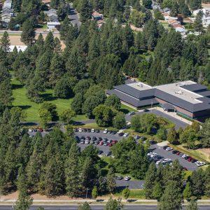 Spokane Commercial Real Estate Photographer, Guardian Life Aerial Photo