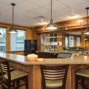 Affinity at Covington Interior Design Photography Bar