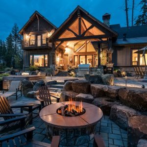 Coeur dAlene Hayden Luxury Real Estate Photography