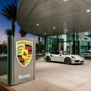 Porsche Irvine Architectural Photography