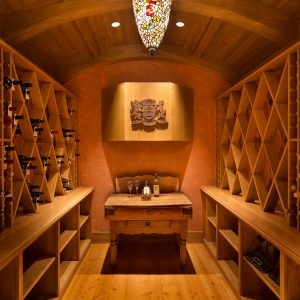 Wine Cellar based after Oak Barrel