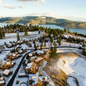 Black Rock Golf Course Real Estate Photography Coeur d'Alene Idaho