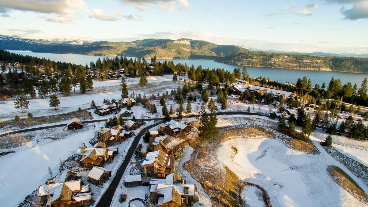 Black Rock Golf Course Real Estate Photography Coeur d'Alene Idaho