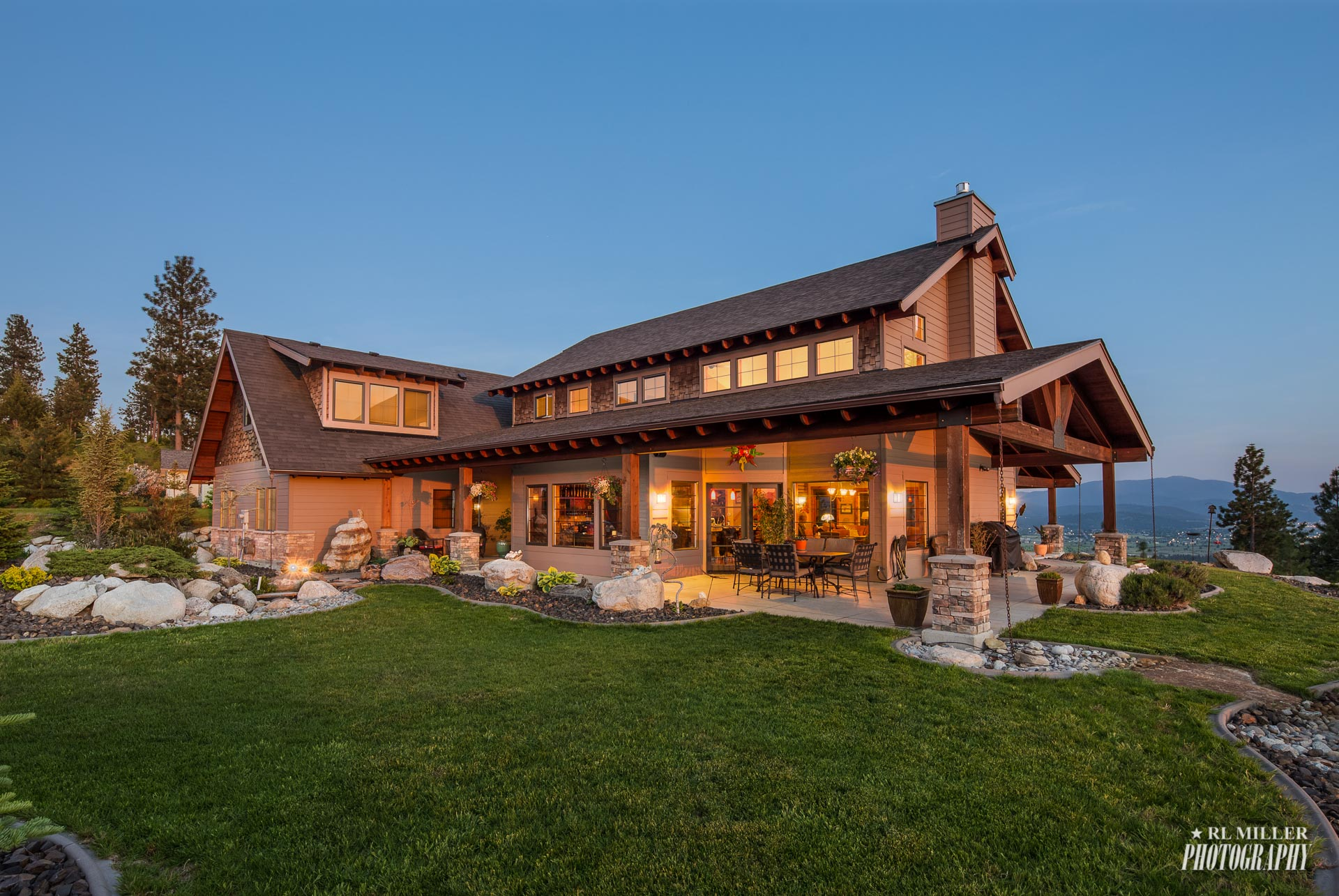 Twilight Exterior for Real Estate