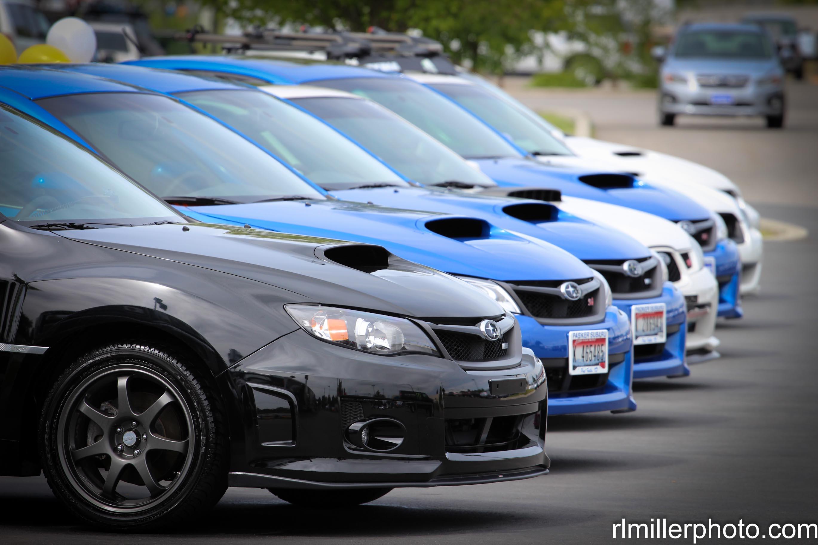 Subaru WRX Lineup
