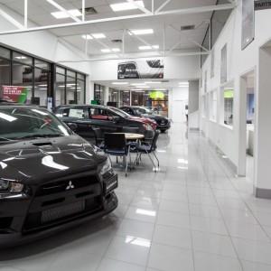 Mitsubishi Showroom