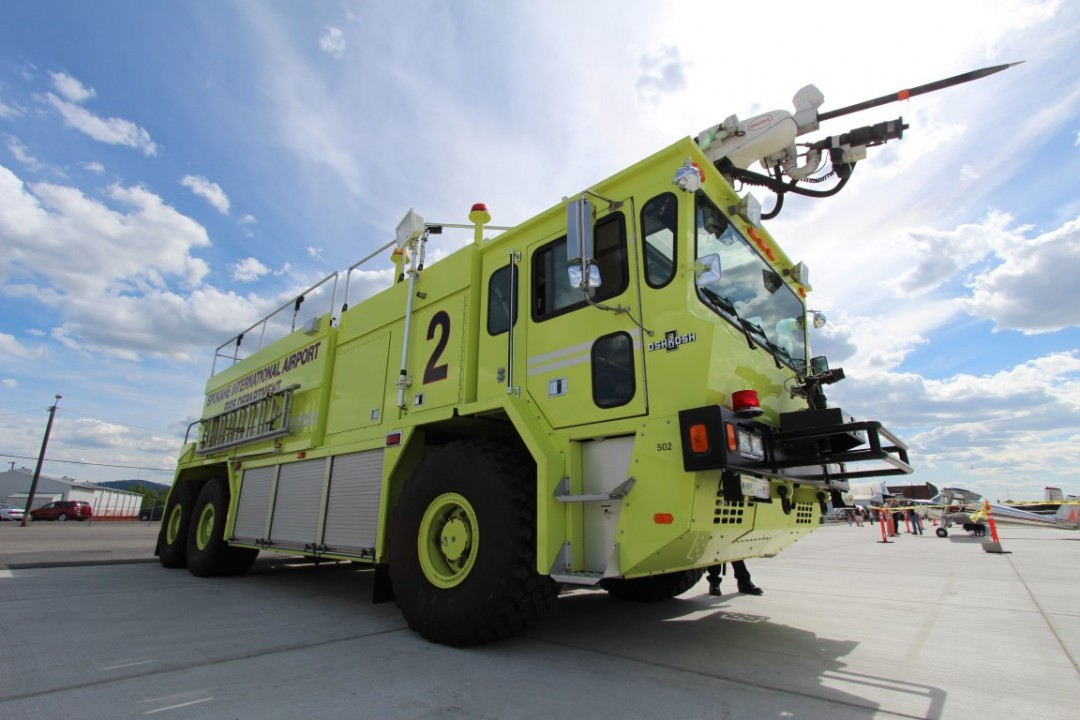 Felts Field Fire Truck