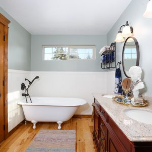 Custom Bathroom Interior Design Claw Foot Tub