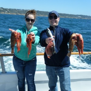 San Diego Red Snapper Fishing