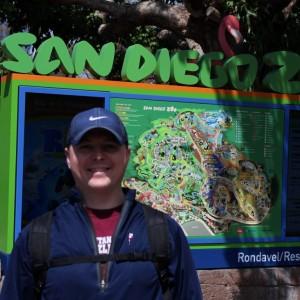 Me at SD Zoo