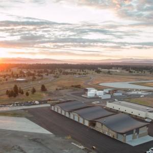 Spokane Airport Aerial