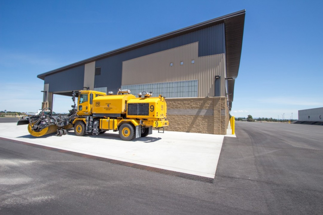 Spokane Airport Snow Removal Equipment