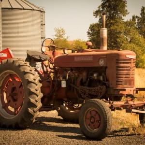 Palouse WA Tractor