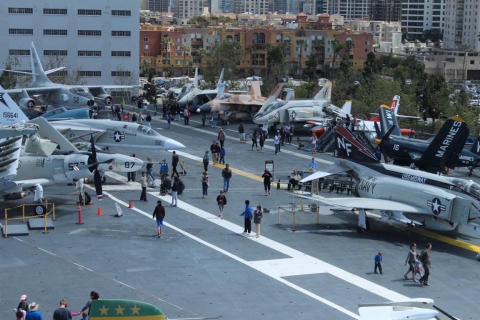USS Midway Flight Deck Unedited