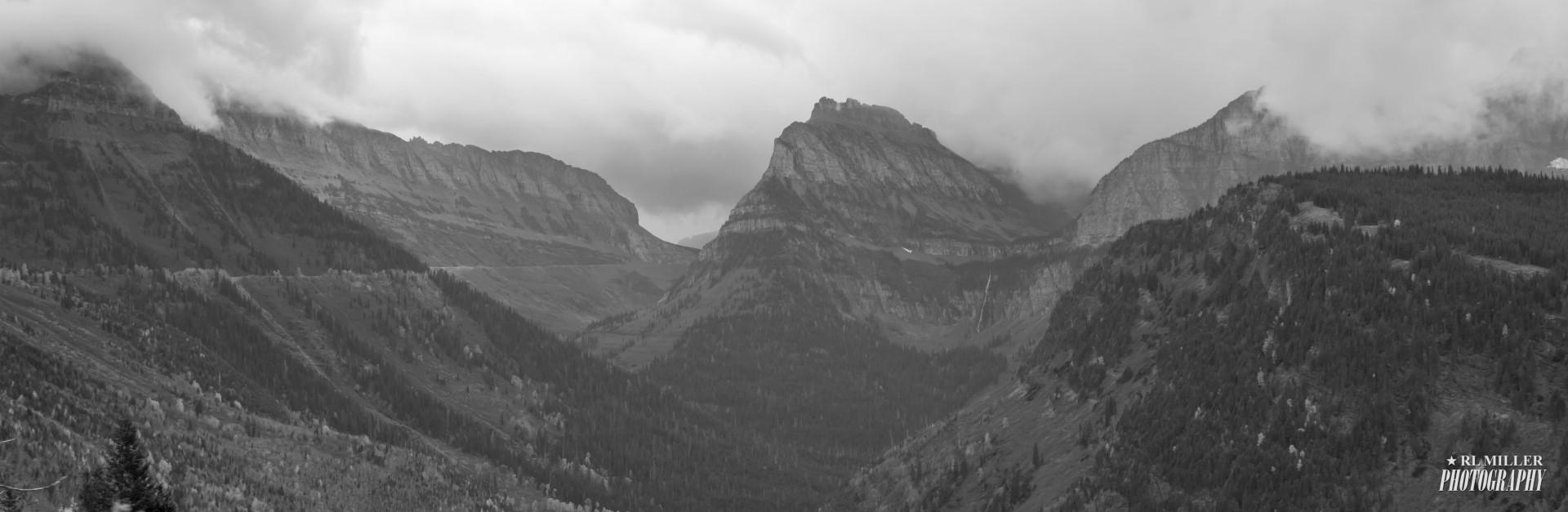 Glacier National Park Mountain Range