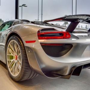 Bellevue Porsche 918 Spyder