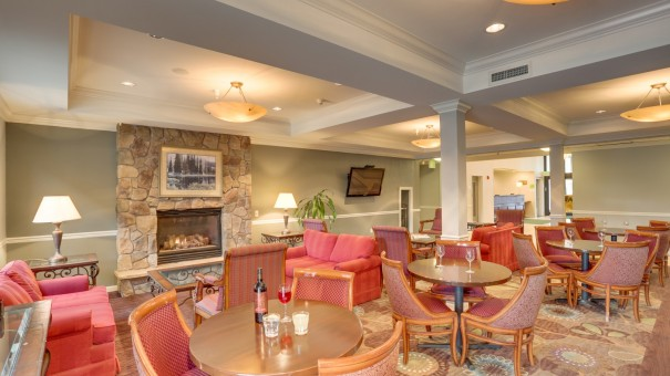 Spokane Hotel Photography - Hotel Lounge