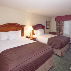 Red Lion Portland Airport Double Queen Room