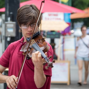 Portland Downtown Violinist