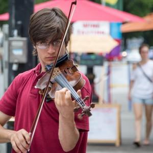 Portland Downtown Violinist