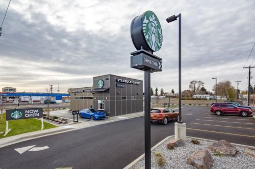 Starbucks on Greene Street, Spokane