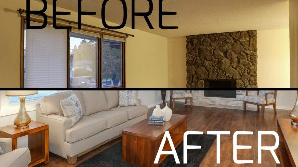 Before and After Remodeling Photography