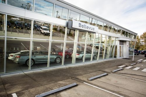 Car Dealership Photographer RL Miller Architecture