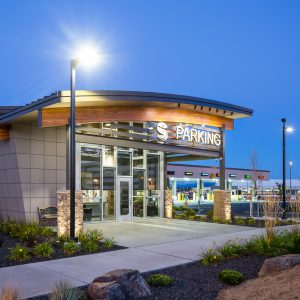 Spokane Airport Parking Architectural Photographer in Spokane