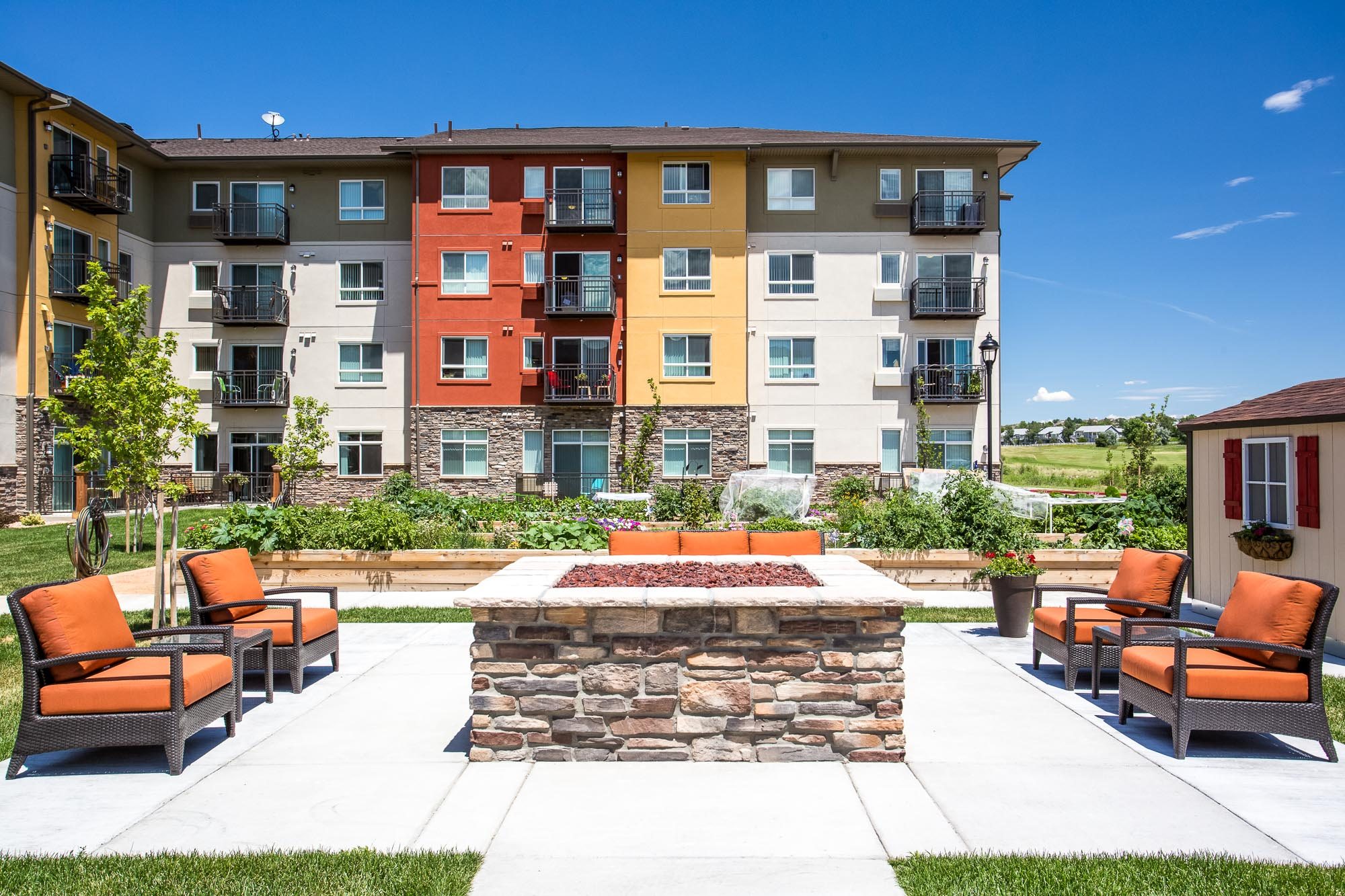 Affinity at Colorado Springs Architectural Photography