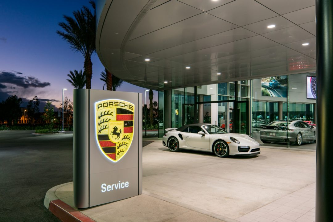 Porsche Irvine Architectural Photography