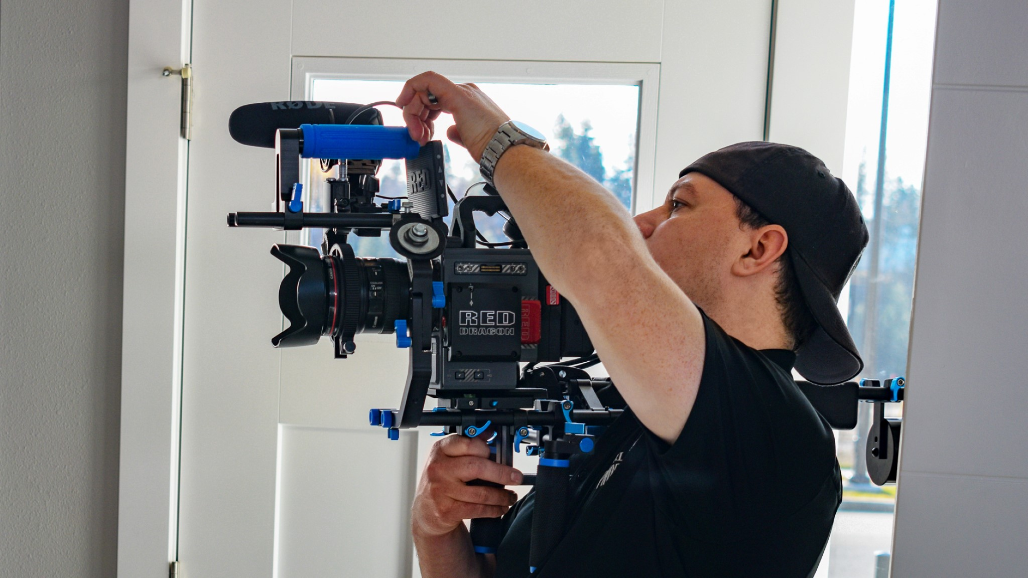 Camera operator in Spokane and North Idaho