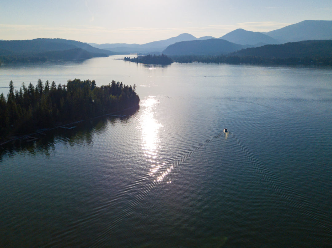Lake Pend Oreille, Ponderay River, Sagle Idaho Real Estate Photography