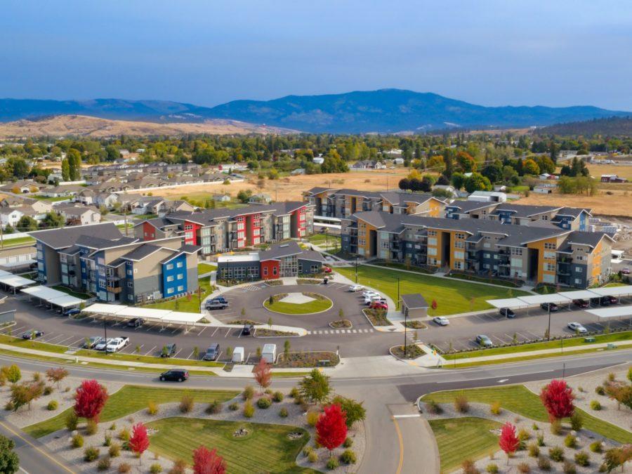 Bella Tess Apartments - Spokane Valley Architectural Photography & Video